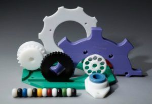 Machined Gears, Cogs and Star Wheels made from wear resistant UHMW